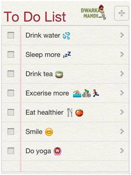 To do list… #exercise #workout #health #fitness #fatloss