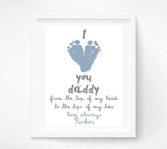 Personalized Fathers Day Gift For New Dad