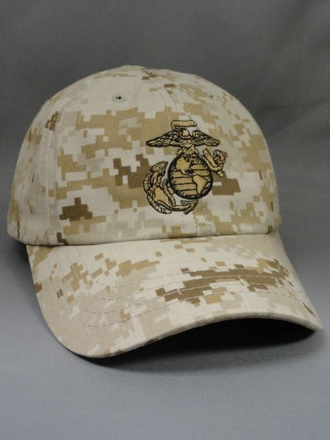 Marine Corps Hat - Desert MARPAT - Made in the USA Yes - This Marine Corps Cover / Hat is Made in the USA - In fact Made in Colorado, USA. Officially Licen...