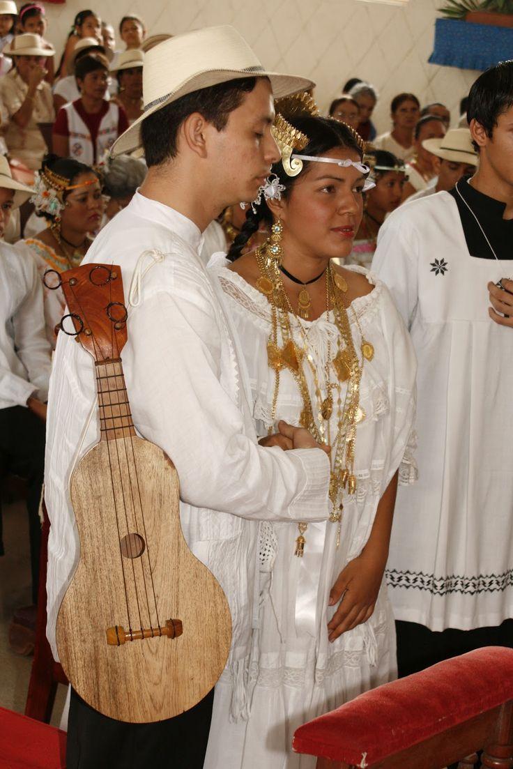 traditional wedding from province of ocú