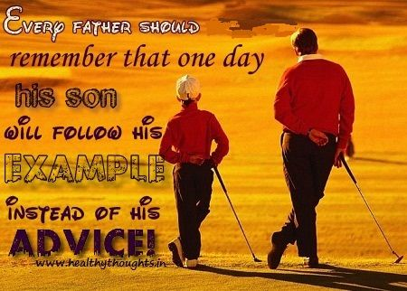 thoughts about life-father and son