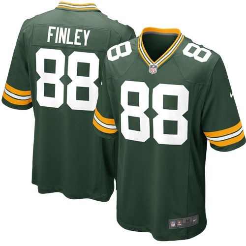 Nike Jermichael Finley Green Bay Packers Youth Game Jersey - Green - http://
