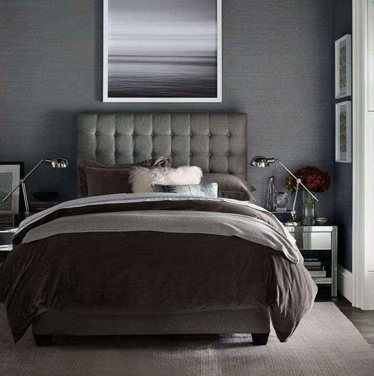 Bedroom Colors To Make It Look Bigger Grey Yellow Blue Bedroom Bedroom Bench Design Ideas Blue And White Bedroom Decor: 99 Best Images About Gray: The New Neutral