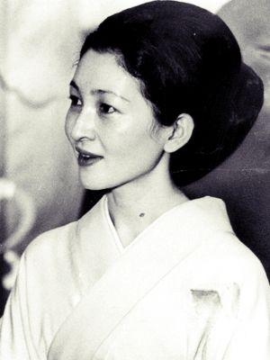 Miss Honoria Glossop:  Empress Michiko (皇后美智子, Kōgō Michiko), née Michiko Shōda (正田美智子, Shōda Michiko, born 20 October 1934)