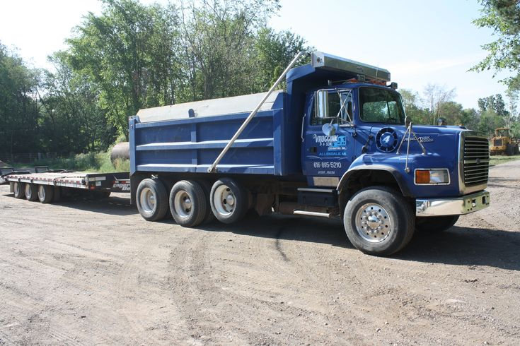 Ford Dump Trucks | Grand Rapids excavating and snow removal equipmentGrand ...