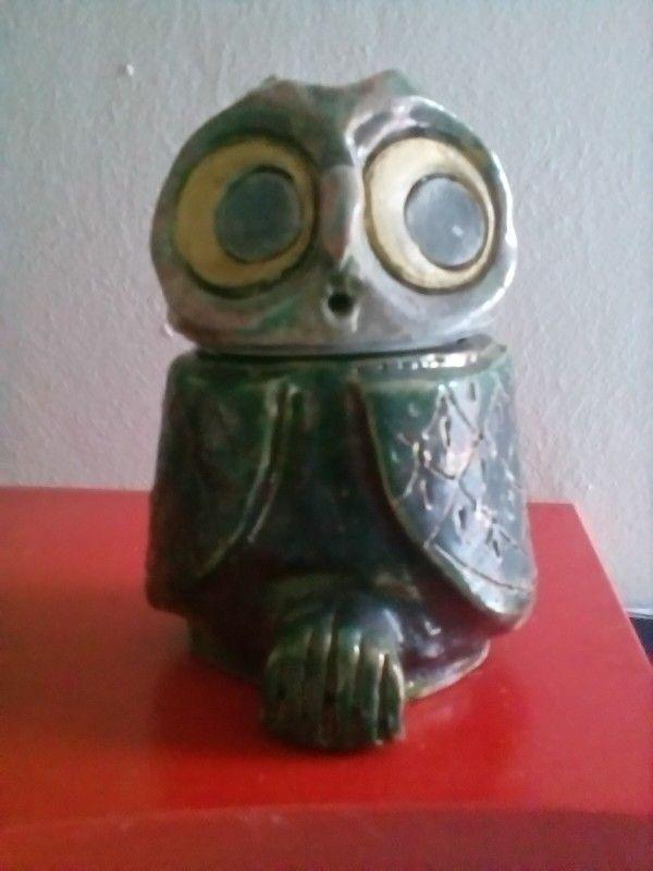 "Ceramica raku "" scatola gufo"" di Ivana D'Apice"