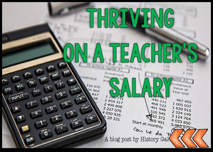 Thriving on a Teacher's Salary
