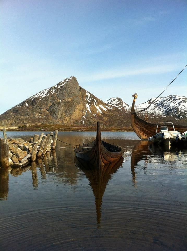 Lofotr Viking Museum at Borg - Lofoten Islands, Norway