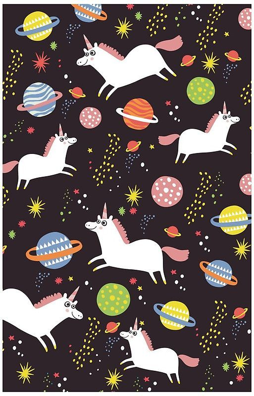 Little known fact, in addition to Medieval forests, unicorns also regularly frequent the outer reaches of the solar system. No seriously!