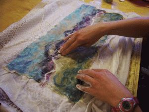 An exciting and informative introduction into Felt Making where you'll learn a variety of techniques using an abundance of colourful fibres and yarns.