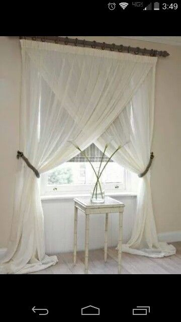 Master Bedroom Curtain Look For The Home Pinterest Bedroom Curtains Master Bedrooms And
