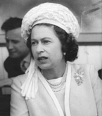 Queen Elizabeth visited Australia in 1970, as part of the Captain Cook Bicentenary.