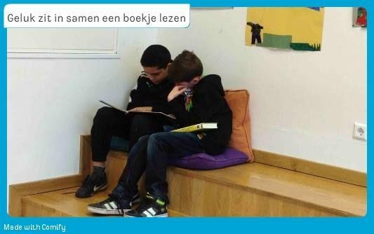 Samen een boekje lezen