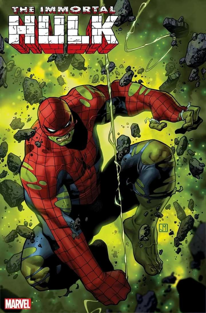 Spider Hulk Está De Regreso Immortal Hulk Great Power One Shot Escrito Por Tom Taylor Y Dibujado Por El Jorge Molina Segui Marvel Cómics Hulk Hulk Dibujo