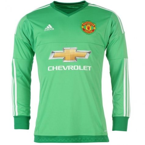 Manchester United 2015/2016 Home Goalkeeper Shirt - Available at uksoccershop.com