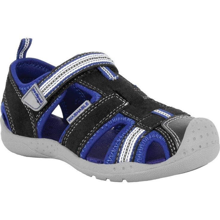 Pediped Sahara Boys Sandals Size 20 21 22 23 24 Blue Earth Casual Water Shoes