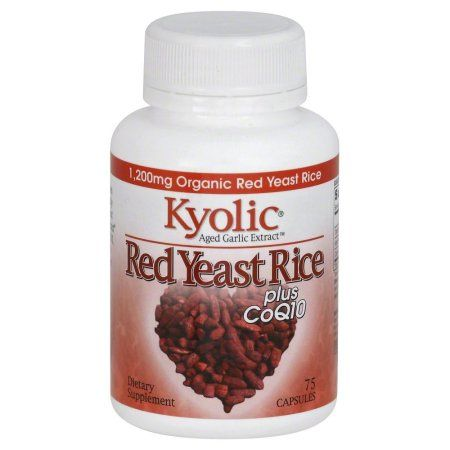Kyolic Aged Garlic Extract Red Yeast Rice Plus Coq10, 75 Ct, Multicolor