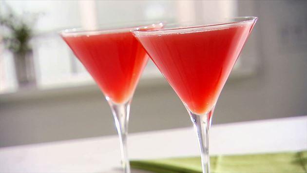 Watermelon Martini Recipe : Sandra Lee : Food Network