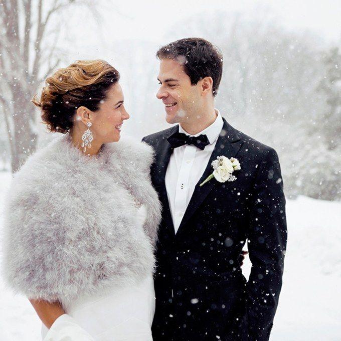 Winter Wedding Ideas from Real Weddings | Brides