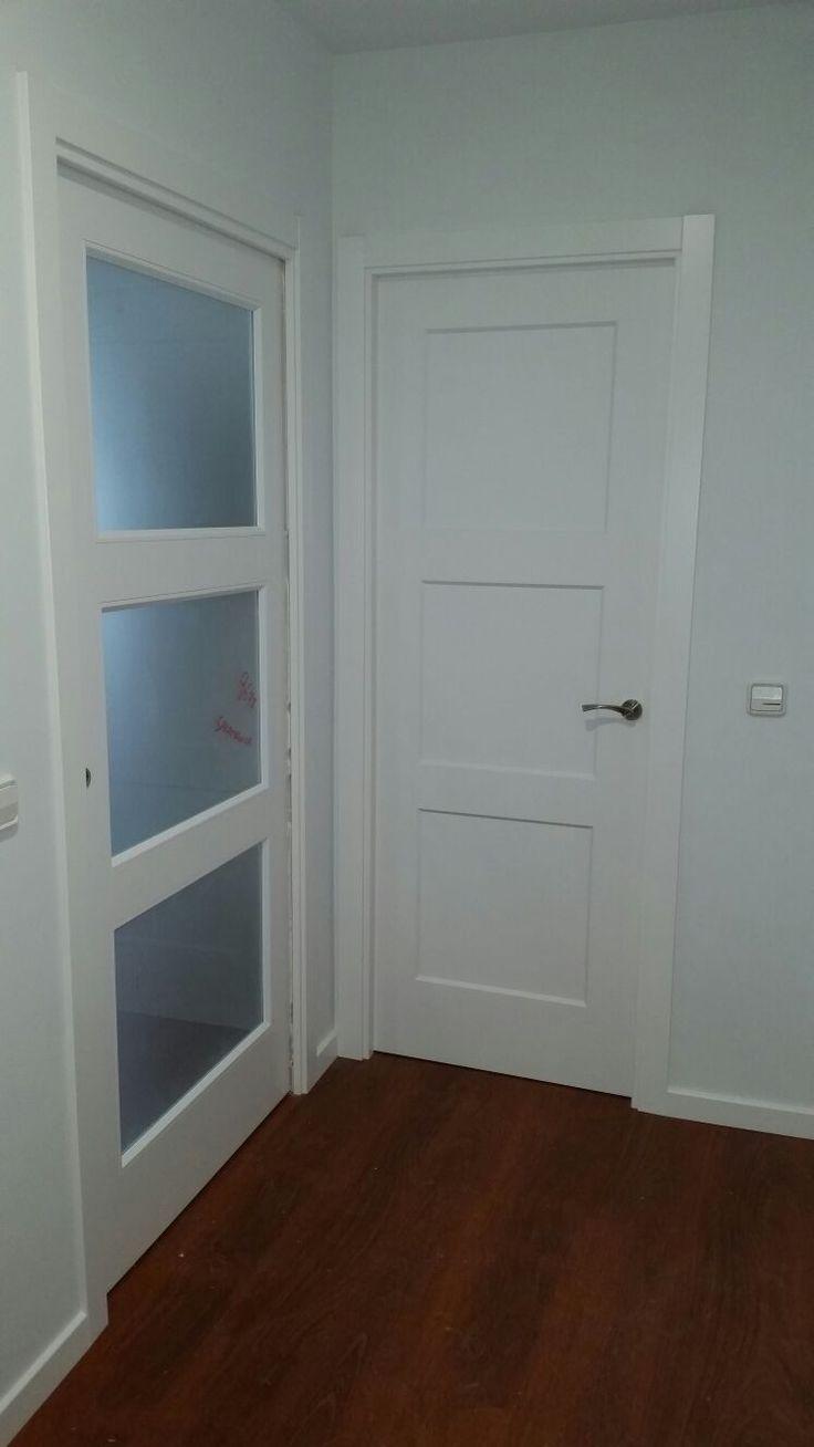 M s de 25 ideas incre bles sobre puertas internas en for Oferta puertas blancas interior
