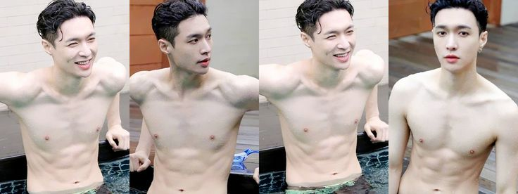 [DOWNLOAD] 170825 Lay's Swimming Pool Photoshoot - EXOdicted - EXO Fansite