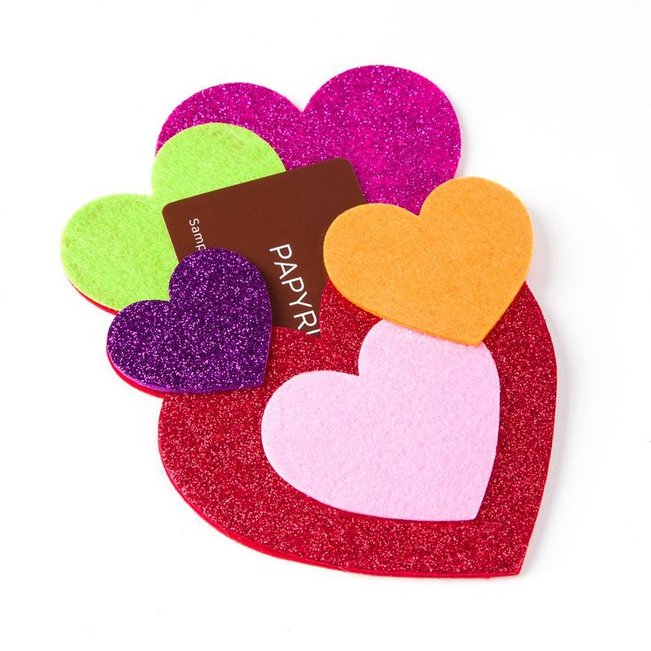 108 best my sweet valentine images on pinterest candy cooking heart cluster gift card holder negle Gallery