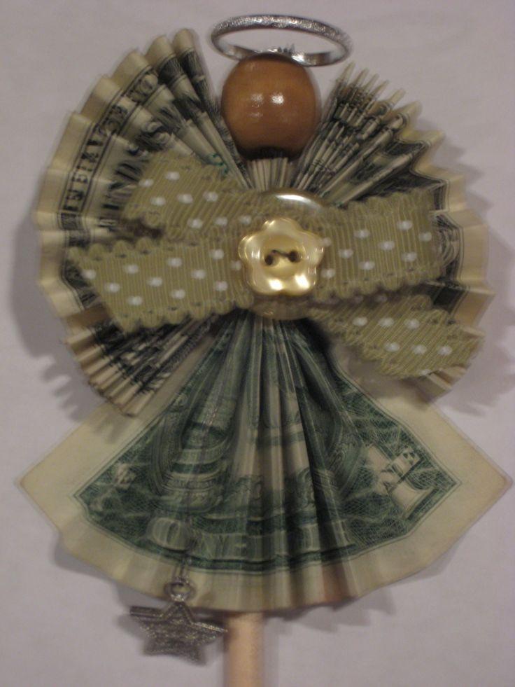 Money Dollar Origami Angel