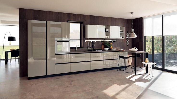 Italienische Küche Design Moderne küchenschränke