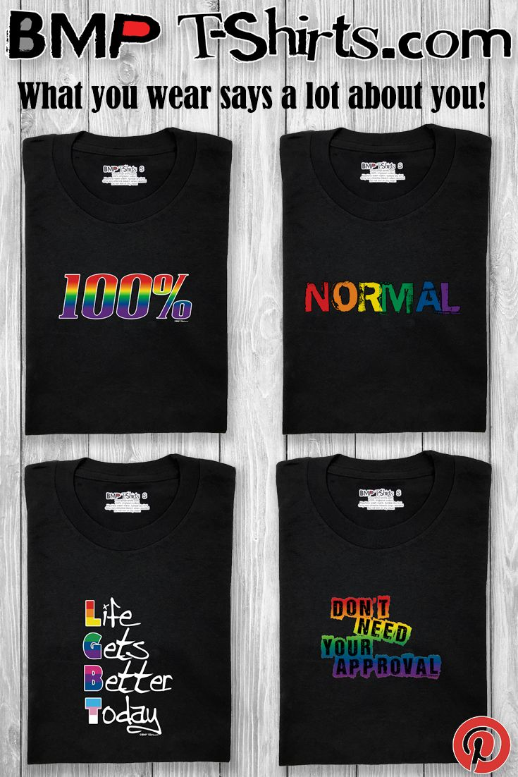 Best Gay Pride T-Shirts! BMPT-SHIRTS.com