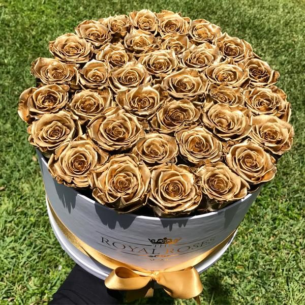 Real Long Lasting Roses Round Box Lifetime Is Over 1 Year Round Box Rose Preserved Roses