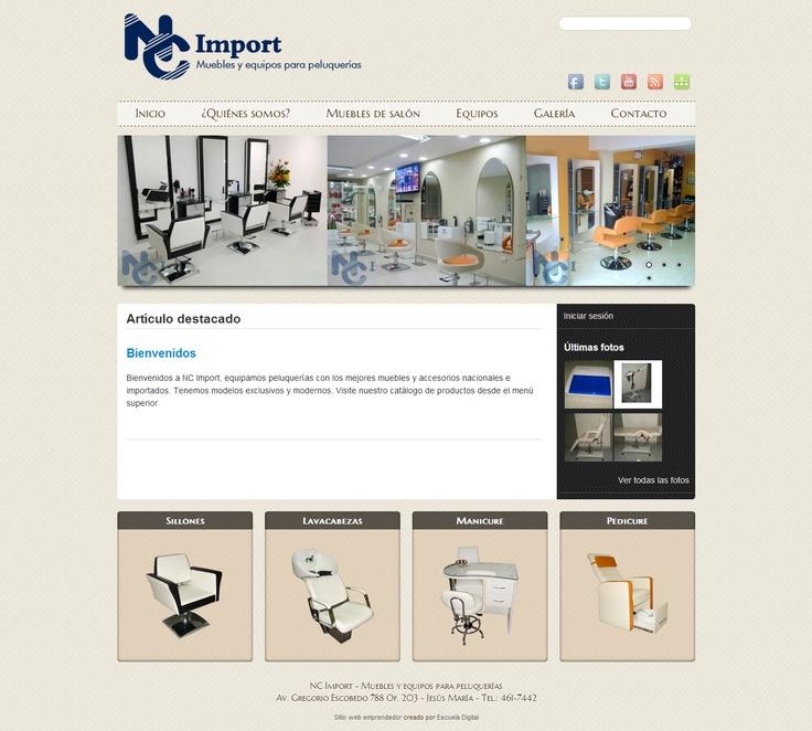 NC Import - Muebles y equipos para peluquerías