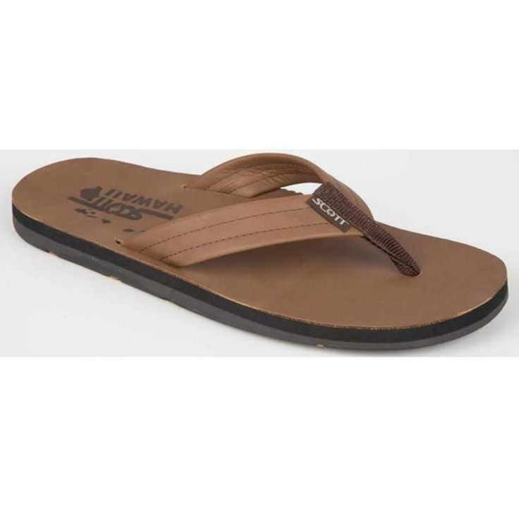 Men Leather Straps Kane Beach Sandals Scott Hawaii – Twisted Palms Trading  Co.
