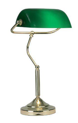440 kr. (Spar 270 kr.) Bankers Table Lamp Polished Brass Finish Oaks Lighting http://www.amazon.co.uk/dp/B003N2P3IQ/ref=cm_sw_r_pi_dp_rVC3wb1ANWVQ0