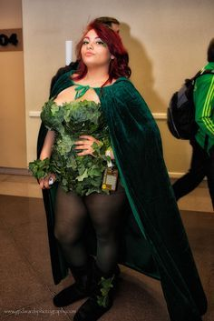 poison ivy costume plus size - Google Search