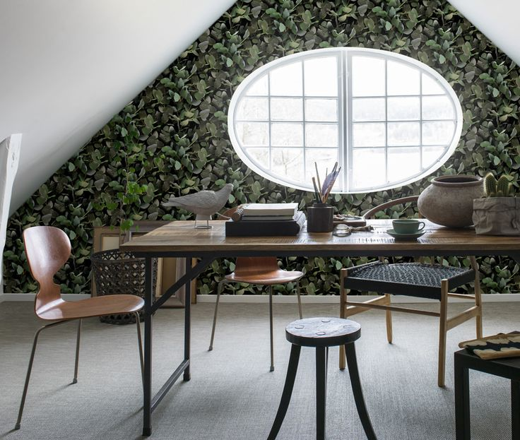 """""""The+eucalyptus+is+stylish+enough+to+work+all+on+its+own,+despite+not+having+any+flowers.+It's+modern+in+its+austere,+simple+yet+soft+form+and+grey-green+matt+colour.""""+—Designer+Helene+Ekblom"""