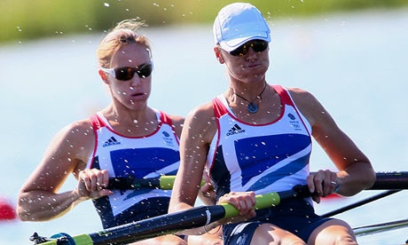 Olympic Gold ,Helen Glover and Heather Stanning. Congratulations, London 2012