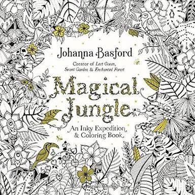 Magical Jungle, Johanna Basford, United Kingdom 🇬🇧 my rating 4