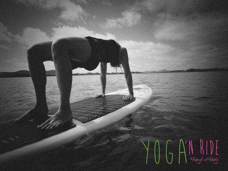 Yoga sup - Ibiraquera Kite Center, Garopaba  Brazil www.rocknride.eu