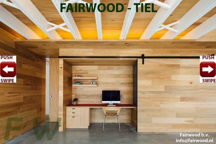 Houten wanden, lambrisering van hout