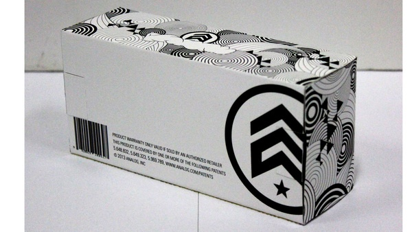 Analog Sunglasses Packaging by Lewis Anderson-Gee, via Behance