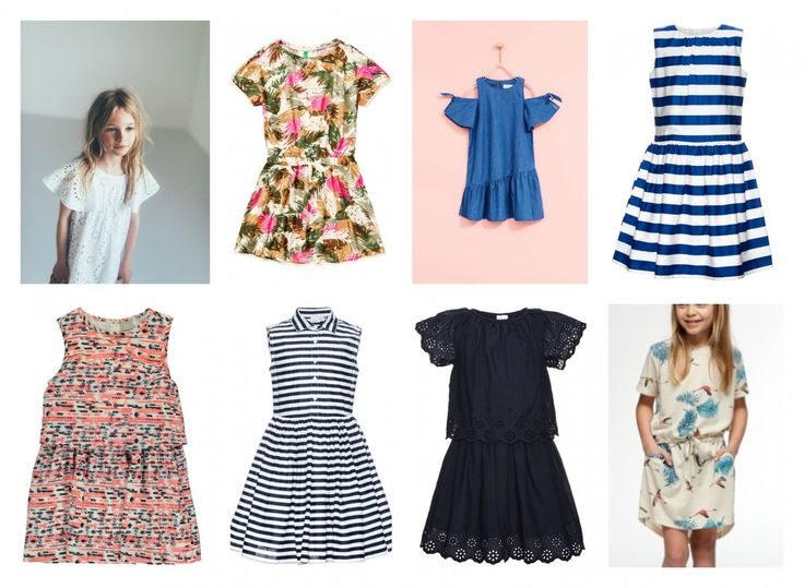 Pretty summerdresses for kids