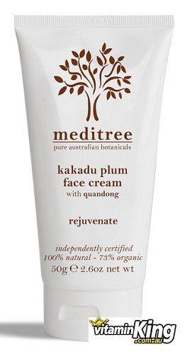 Rejuvenate Face Cream Kakadu Plum with Quandong by Meditree Botanicals