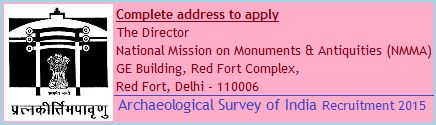 he Archaeological Survey of India has issued the notification at its own official website on the behalf of recruitment project 2015 for the posts of Research Associates & Date Entry Operators in various circles / districts. Main details like pay scale, required age & qualification, application format - See more at: http://www.recruitpapa.com/2015/01/archaeological-survey-of-india.html