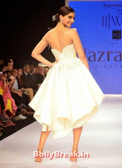 Sonam Kapoor walks the ramp for Rio Tinto's Nazraana Sonam Kapoor Pics in White Gown Dress at IIJW Fashion Show 2014 - Sonam Kapoor Ramp Walk Pics in hot White Tight Dress , #fashionshow #sonamkapoor #gown #iijw #dress #bollybreak #bollywood #india #indian #mumbai #fashion #style #bollywoodfashion #bollywoodmakeup #bollywoodstyle #bollywoodactress #bollywoodhair