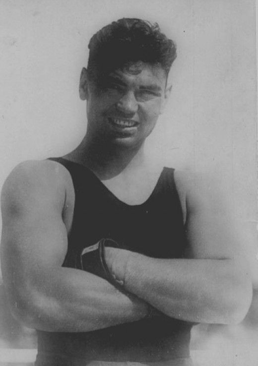 Jack Dempsey the legend of boxing