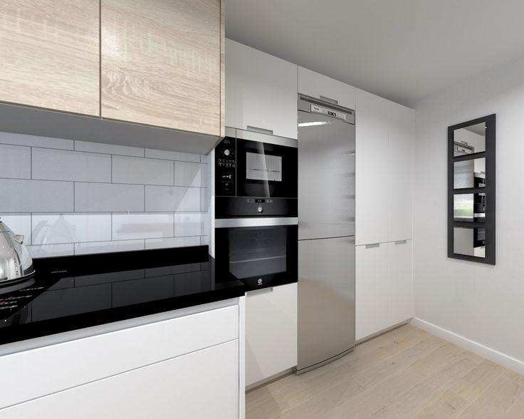 17 mejores ideas sobre cocina de granito negro en - Encimera granito blanco ...
