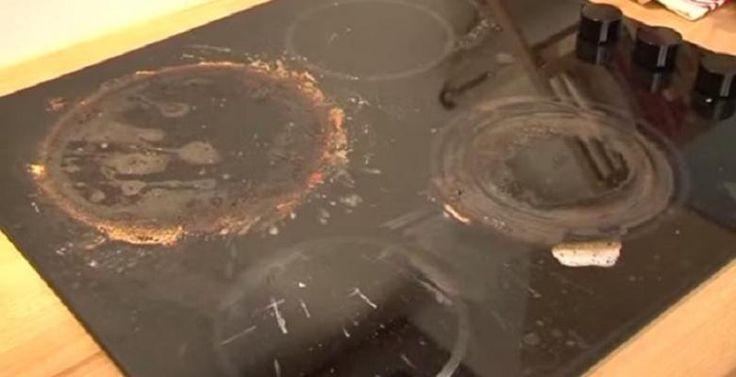 Une recette super efficace et économique pour nettoyer votre cuisinière en céramique! La cuisinière est très sale, vous vous doutez bien que c'est pour vous montrer l'efficacité de la recette ;) Vous aurez besoin de bicarbonate de soude et d'eau! Mé