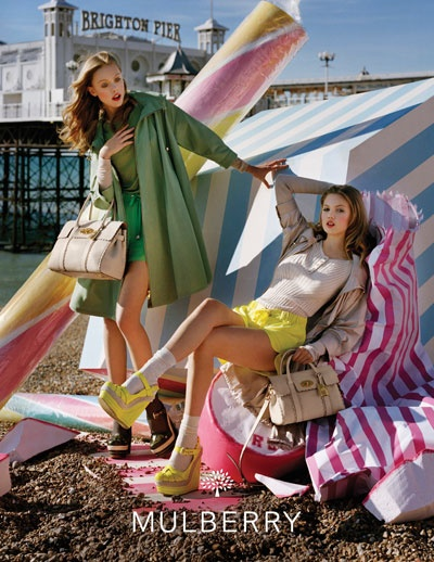 Mulberry Spring Summer 2012 campaign, shot by Tim Walker.