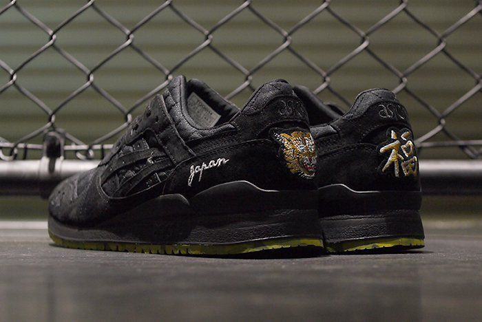 "Beams x Mita Sneakers x Asics Gel-Lyte III ""Souvenir Jacket"""