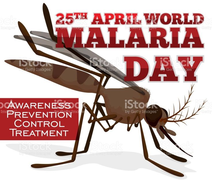 Awareness Propaganda with Mosquito for World Malaria Day